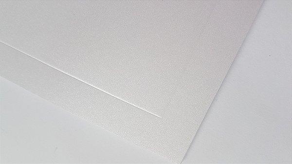 Convite branco perolado