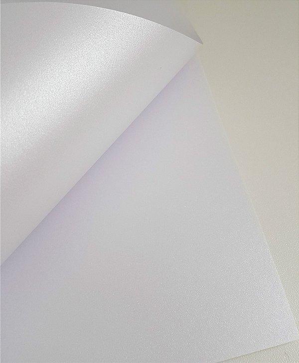 Papel perolado A4 Liso Branco - 240 g/m²