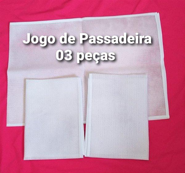 Talagarça Jogo de Passadeira - 03 peças