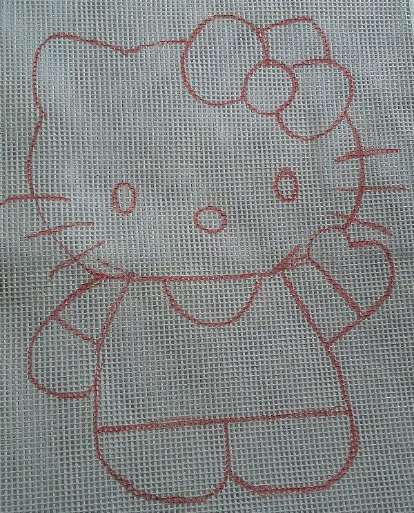 Hello Kitty 60x60cm