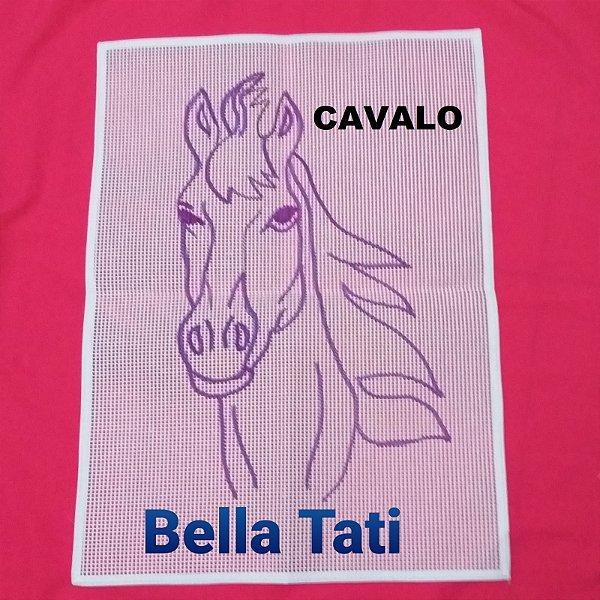 Talagarça Cavalos 50x70 (escolha o desenho)