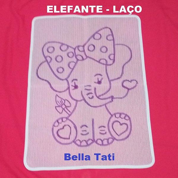 Talagarça Elefantes 50x70 (escolha o desenho)