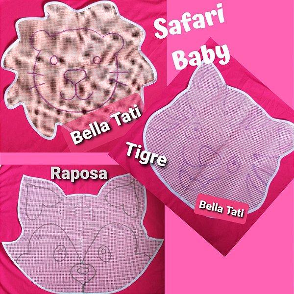 Safari Baby (tigre,leão,raposa)