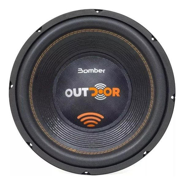 Subwoofer Bomber Outdoor 800 Watts Rms 4 Ohm 12 Pol