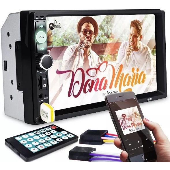Dvd 2 Din Central Multimídia ohpro Universal Mp5 Bt