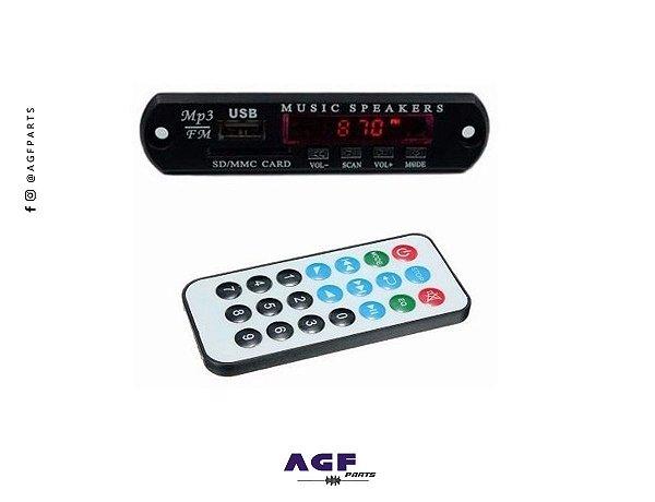 Placa para amplificador Usb Sd Bluetooth Mp3*