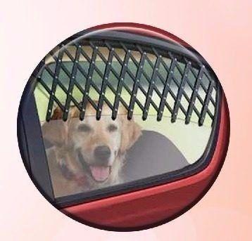 Kit 2 Grades Porta Cães Pets Proteção Segurança Janela
