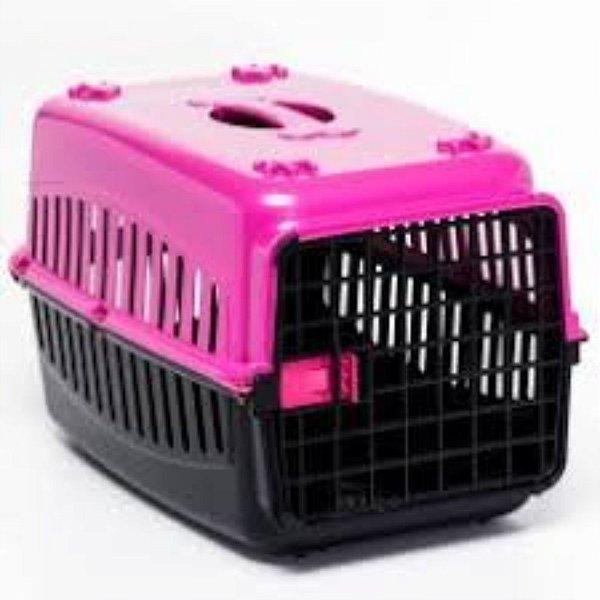 N3 Caixa De Transporte Rosa Cachorro Gatos Coelho Cão