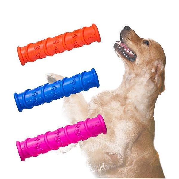 Mordedor borracha bastão para cães cores variadas*