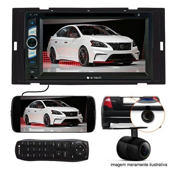 Central Multimidia Nissan Sentra + Moldura 2din +camera