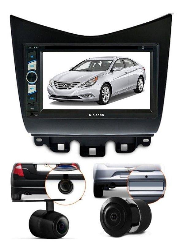 Central Multimidia Dvd Honda Accord + Moldura 2 Din + Camera