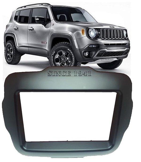 Moldura Jeep Renegade Dvd 2 Din Multimidia 2015 a 2019