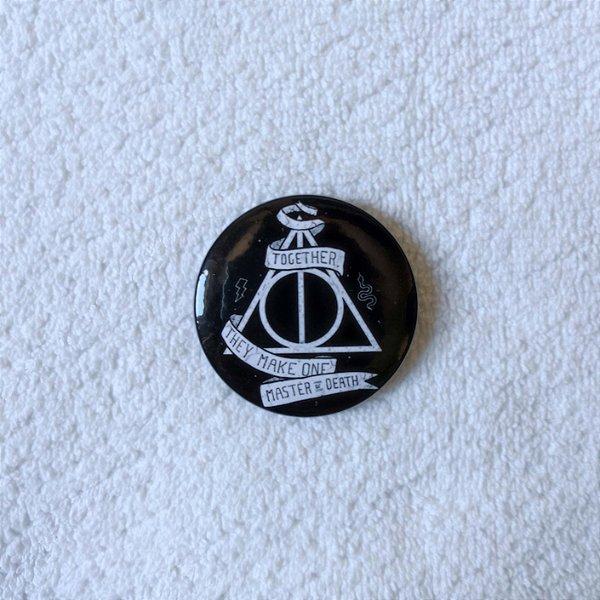 Botton Harry Potter - As Relíquias da Morte