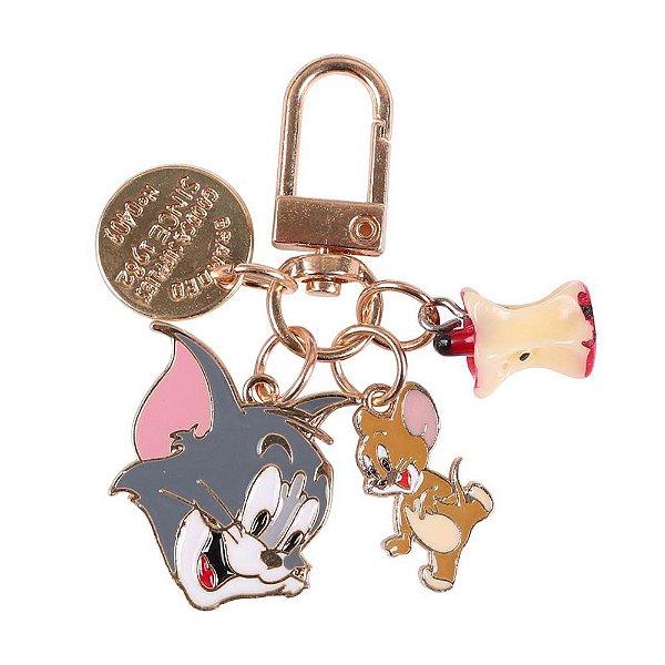Chaveiro Tom & Jerry (Dourado)