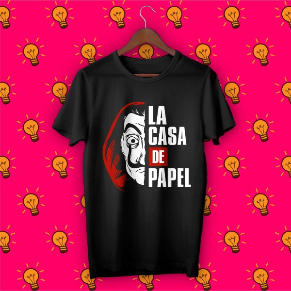 Camiseta La Casa de Papel - Dalí