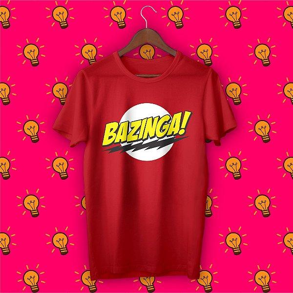 Camiseta The Big Bang Theory - Bazinga!