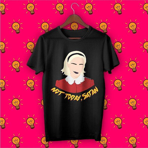 Camiseta O Mundo Sombrio de Sabrina - Not Today, Satan