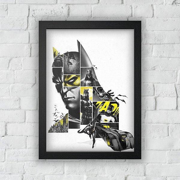 Quadro Batman 80 Anos