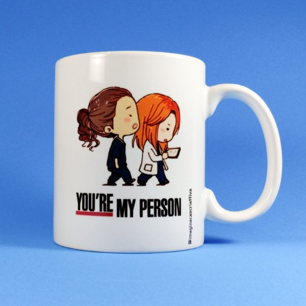 Caneca Grey's Anatomy - You're My Person FV