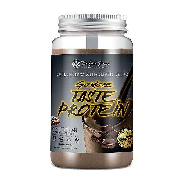 Go More Taste Protein® 908g Chocolate Cream - Whey Protein Concentrado - WPC