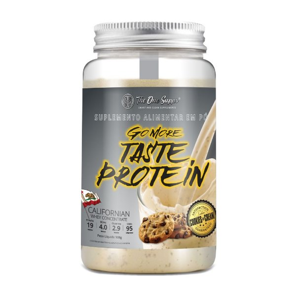 Go More Taste Protein® 908g Cookies and Cream
