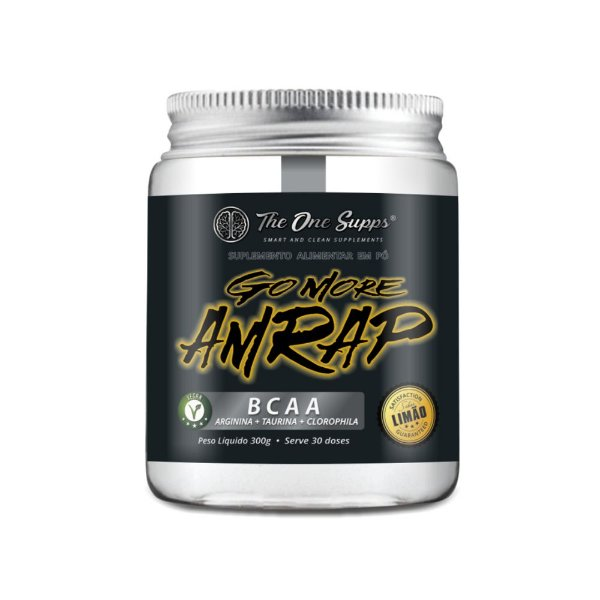 Go More Amrap® 300g Vegan - BCAA+Taurina+Arginina