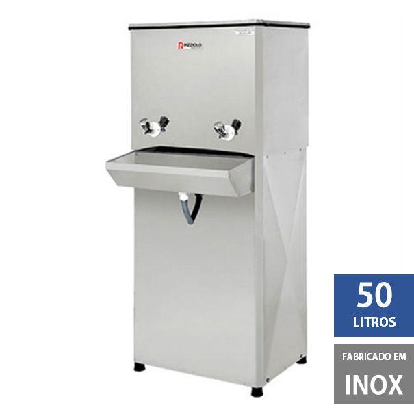 Bebedouro Industrial Elite 50 litros Coluna em Inox