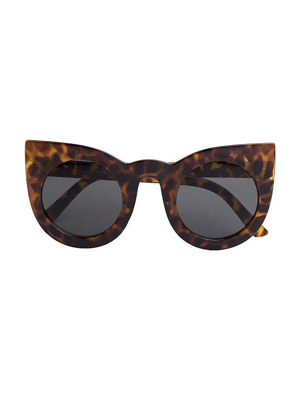 Óculos Wolves Uigafas  Turtle e preto animal print