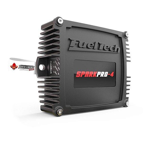 SparkPRO-4 Fueltech - com chicote de 2 Metros