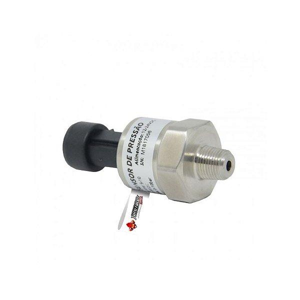 Sensor de Pressão (0-10 bar) para Ar, Óleo e Combustível - Metal Horse