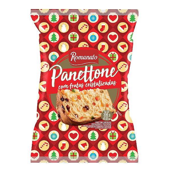 Panettone Flowpack - Frutas Cristalizadas (300g)