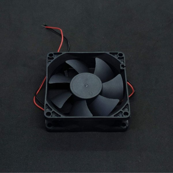 MICROVENTILADOR 12VDC 80X80X25MM COM BUCHA