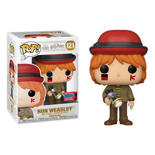Funko Pop Movies: Harry Potter Wizarding World - Ron Weasley at World Cup NYCC 2020 Exclusive