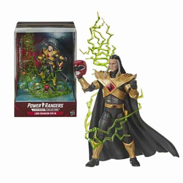 Power Rangers Lightning Collection Mighty Morphin Lord Drakkon EVO III Hasbro Pulse Exclusive