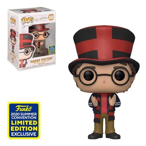 Funko Pop Harry Potter - Harry at Quidditch World Cup SDCC 2020 Exclusive