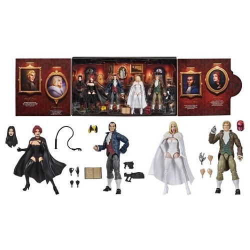 Marvel Legends Series The Hellfire Club Collection Figures SDCC 2020 Exclusive
