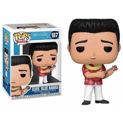 Funko Pop Rocks Elvis Presley - Elvis Blue Hawaii