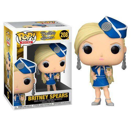 Funko Pop Rocks: Britney Spears – Stewardess #208