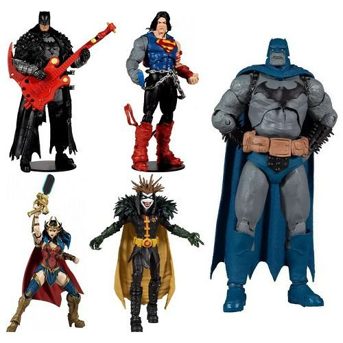 McFarlane Dark Multiverse DC Multiverse Wave 4 Set of 4 Action Figures (Collect to Build: Darkfather)