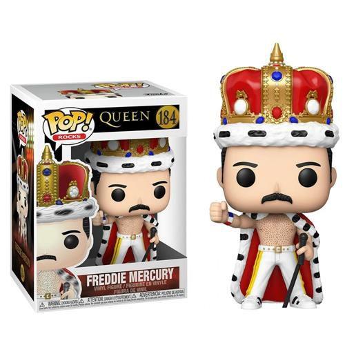 Funko Pop Rocks Queen - Freddie Mercury (King) #184