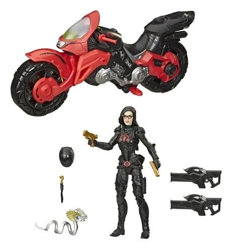 G.I. Joe Classified Series Baroness with C.O.I.L. Figure and Vehicle Target Exclusive
