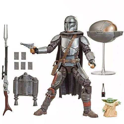 Star Wars The Black Series 6 Din Djarin & The Child The Mandalorian 2-pack Target Exclusive