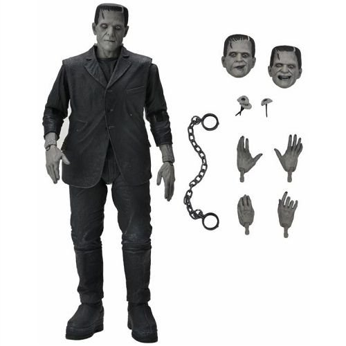 NECA Universal Monsters Ultimate Frankenstein's Monster (Black & White) Figure