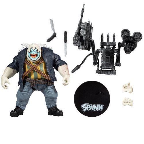 McFarlane Spawn's Universe Clown Deluxe Action Figure