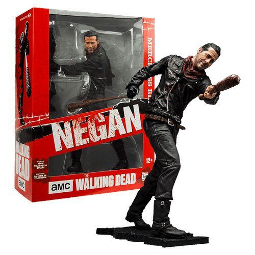 McFarlane The Walking Dead TV Series Deluxe 10″ Negan Merciless Edition