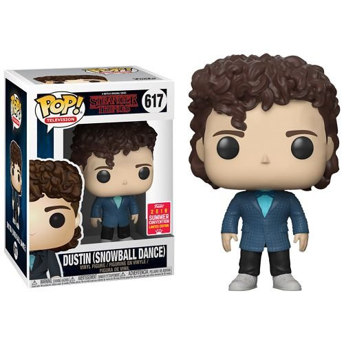 Funko Pop Stranger Things – #617 Dustin in Snow Ball Outfit SDCC 2018