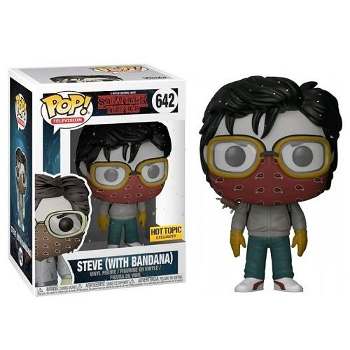 Funko Pop Television Stranger Things – Steve with Bandana Hot Topic Exclusive