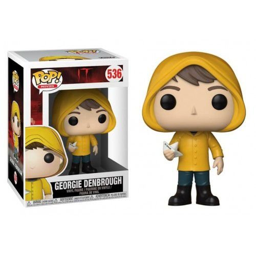 Funko Pop Movies: It – Georgie Denbrough with Boat