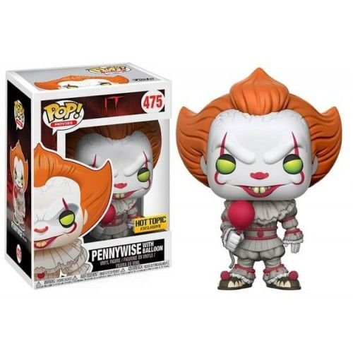Funko Pop - #475 Pennywise with Balloon Hot Topic Exclusive