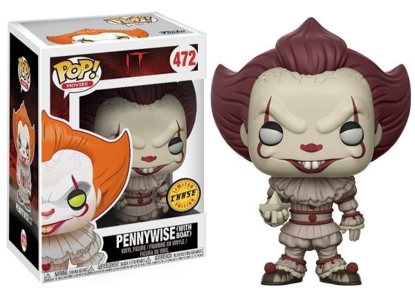 Funko Pop - #472 Pennywise With Boat Chase